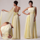 Pleated Ball Gown Formal Bridesmaid Date Prom Dresses Cocktail Evening Dress HOT