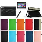 For 10.6 Microsoft Surface Pro / Pro 2 Leather Case Cover + Keyboard + Film + Pen