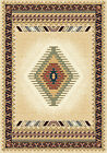 BEIGE cream IVORY southwestern CARPET native AMERICAN apache BORDERED area RUG