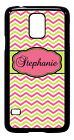 Personalized Monogram Chevron Lime for Samsung Galaxy S3 S4 S5 Note 2 3 M320