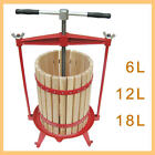 MAXTRA Apple press, cider press, fruit press, wine press, juice press,6, 12, 18L
