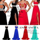 Wedding Bridesmaid Formal Gown Ball Evening Cocktail Party Chiffon Prom Dress