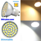 UK 7/10W Cool warm White Dimmable GU10 LED 5050 SMD Recessed Ceiling Down light