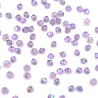 4mm Light Amethyst AB (212 AB) Swarovski crystal 5328 / 5301 Loose Bicone Beads