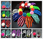 Free Lot Japanese Harajuku Acrylic 2.8 Inch Skeleton hand Flower hairpin Jewelry