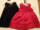 CARTERS Baby Girls Size 3 or 6 Month Red Choice Dress Fancy NWT