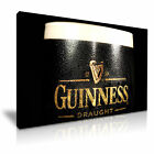 GUINNESS BEER Canvas Framed Printed Wall Art ~ More Size