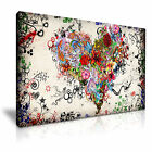 LOVE 5 Canvas Framed Print Wall Art ~ More Size
