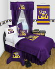 LSU Louisiana Tigers Bed in a BagTwin Full Queen King Comforter Set
