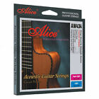 1 set ACOUSTIC GUITAR STRINGS anti rust 80/20 bronze CUSTOM or LIGHT 11-52 12-53