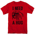 Alien -Face Hugger I Need a Hug Adult T-Shirt