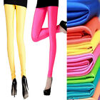 Women's Fluorescent colors Sexy Fashion Polyester Spandex Tights Pants