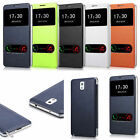 Favored Leather Flip Smart View Cover Case for Samsung Galaxy Note 3 N9000