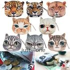 Lovely Cute Animal Face Coin Money Zip Pouch Pocket Makeup Bag Mini Wallet Purse