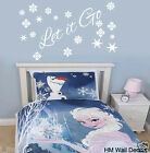 """ Let it Go "" Frozen inspired quote removable wall art decal"