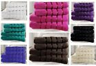 STRIPED PURE 100% EGYPTIAN COTTON TOWELS HOME HOTEL SALON GUEST TOWEL GIFT SET