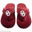 Oklahoma Sooners Flip Flop Comfy Feet Slippers