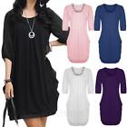 Tunic Cute Vintage Chiffon Mini Dress Prom Club AU 6 8 10 12 14 16 18