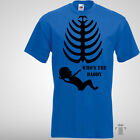 SKELETON MATERNITY SCAN, Whos The Daddy, Funny T Shirt Mums Womens Size S-2XL