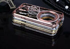 Star Bling Crystal Diamond Metal Bumper Case Cover For Samsung Galaxy S5 i9600