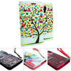 For LG Volt LS740 F90 Design Hybrid PU Leather Wallet Flip Pouch Case Stand