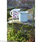 BURGON AND BALL SOPHIE CONRAN ENAMEL TIN MUG CAMPING FESTIVAL KITCHEN PICNIC