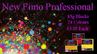 FIMO Professional 85g Polymer Clay 24 Colours For Modelling Jewellery Craft Art
