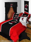 Miami Heat Comforter and Sham Set Twin to King