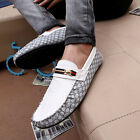 NEW Brand Comfy Leather Casual Slip On Loafer Shoes Moccasins Driving Shoes