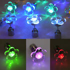 CHEAP 1 Pair Flower Shape LED Glow Light Up Shiny Ear Stud Earrings Club Party 0