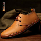 NEW British style Men's leather shoes casual shoes lace-up fashion shoes WX0026