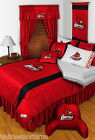 Louisville Cardinals Bed in a Bag Sidelines Twin Full Queen King Comforter