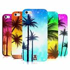 HEAD CASE SUMMER SILHOUETTES TPU GEL BACK CASE COVER FOR APPLE iPHONE 5S