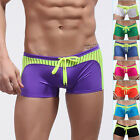 2015 Sexy Men's Bikini Swimwear Sports Boxer Shorts Swimming Bathing Beachwear