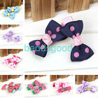 Cute Sweet Dot Bow Hair Clip Bands Hairpins Children Student Baby Girls Styling