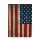 US Flag PU Leather Folio Case Cover For Amazon Kindle Paperwhite 1 2&3G Wifi