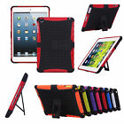 Heavy Duty Durable Hard Stand Protector Case Cover For iPad mini 2 3 4 w/Stylus