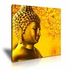 RELIGION Buddhism 7 Buddha Modern Canvas Framed Printed Wall Art - More Size