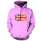 Irish Union Jack Flag - Unisex Hoodie / Hooded Top -Ireland -Republic Of Ireland