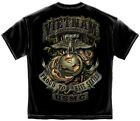 USMC US Marines Vietnam Veteran Jungle T shirt  Print Both Sides