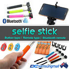 Portable handheld wireless bluetooth selfie monopod camera
