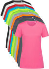 Ladies Womens Womans Active Dry Polyester Body Fit Sports T-Shirt Tshirt Tee