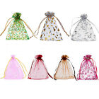 25 Nice 10cmx12cm Organza Bags Pouches Wedding/Christmas Favor M3358