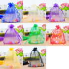 25PCs 13x16cm Organza Gift Bags Pouches Wedding/Christmas Favor M3360