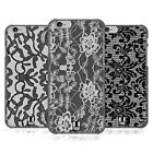 HEAD CASE DESIGNS BLACK LACE CASE COVER FOR APPLE iPHONE 6 4.7