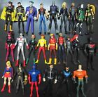 lot! DC UNIVERSE YOUNG JUSTICE JLU ACTION FIGURE superman BATGIRL joker Aquaman