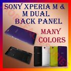 HIGH QUALITY BACK BATTERY DOOR PANEL for SONY XPERIA M & M DUAL HOUSING COVER