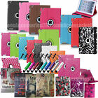 360 Rotating Wallet Leather Case Cover For Apple IPad 1 2 3 4 Ipad Air 1 Air 2 6