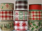 Gisela Graham ♥ Wired Edge Christmas Ribbons  ♥ Assorted Designs ♥