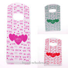 Party Supply &Jewelry Display Bag 50pcs Heart Style Plastic Bags152*90mm